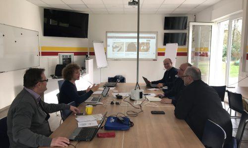 Workshop des Presseteams