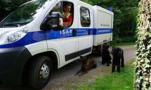 Amtshilfe: Gleich dreimal wurde I.S.A.R. Germany zur Hilfeleistung im Rahmen des nationalen Katastrophenschutzes gerufen.