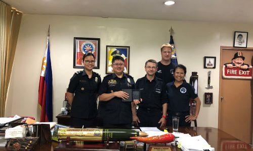 Unterstützung für Katastrophenschutz auf Philippinen
