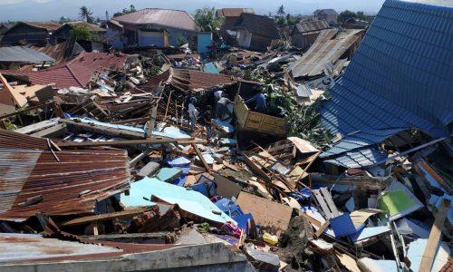 Hilfe aus Deutschland für Erdbeben- und Tsunamiopfer in Indonesien