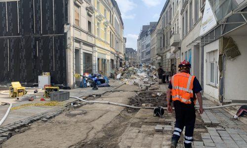 I.S.A.R. noch immer im Katastrophengebiet
